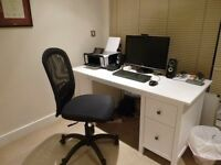 IKEA Hemnes desk - White stain