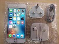 IPHONE 6 SILVER - VISIT MY SHOP. - UNLOCKED - 64 GB/ GRADE B - WARRANTY + RECEIPT