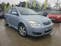 2005 TOYOTA COROLLA 1.4 PETROL MANUAL, 5 DOORS HATCHBACK.