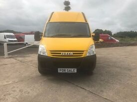 2007 YELLOW IVECO DAILY 35C12 MWB