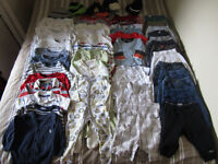 Stunning Massive baby boy bundle of designer clothes, 6-12Months - 54 items in total