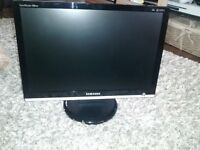 "20"" Samsung LCD Widescreen Monitor"