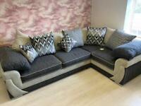 Rihanna Fabric Right Hans Corner Sofa **EX DISPLAY**