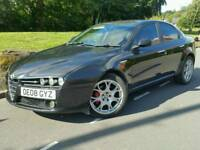 ALFA ROMEO 159 2.0 JTDM LUSSO*2008*NEW SHAPE*RED LEATHERS*S/HIST*MINT COND'N*