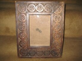 Carved Wooden Picture/Photograph Frame