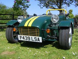 Robin Hood 2B Kit Car Looks like a Caterham or Westfield road and track day car IVA tested