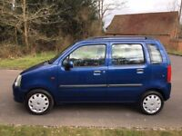Vauxhall Agila 1.2 Enjoy, 5 door, low engine size, absolute bargain, just come in px