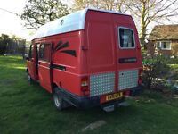 LDV Convoy camper van