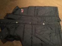 Hollister hooded gillet boys Size M