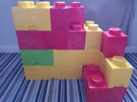 Lego storage boxes various sizes prices from £5