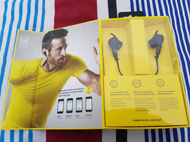 New & Sealed Jabra Sport Pulse Wireless headphones With Built In Heart Rate Monitor 12th Warrentry