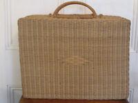 Vintage Picnic Hamper / Basket. Extra Large