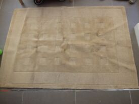 NEXT Rectangular beige rug 120cm x 175cm (approx)
