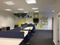 1 Office + 6 Desks in Office Block in Battersea - All Bills Included