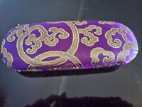 Oriental style glasses case - brand new and different styles available