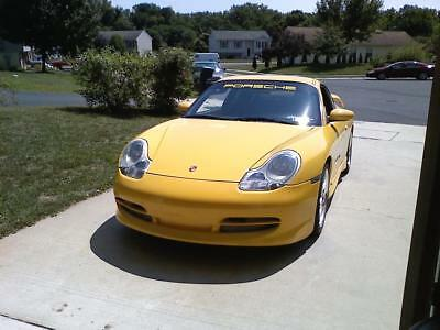 Porsche Windshield Banner Decal Vinyl Yellow 944 996 997 GTS FREE SHIPPING