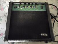 Stagg guitar practise amp. Combo amplifier. As new.