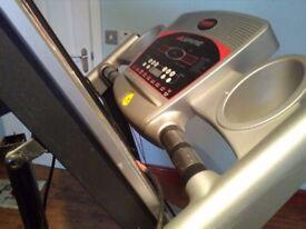 Aspire Treadmill, cost 399.99, offers around £130, very good condition, Tel 07903623202