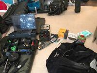 Whole carp fishing setup not cheap gear
