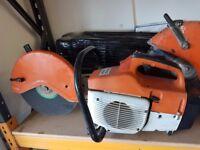 STIHL TS 400 DISC CUTTER 300 MM PETROL SAW JUST HAD THE ENGINE REBUILT