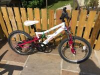 Girls Apollo bike 20 inch