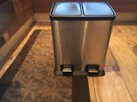 Recycling duo bin