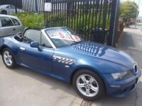 Great looking BMW Z3 Roadster,2171 cc Convertible,two tone leather interior,runs and drives well
