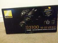Nikon 3100 pack - MINT, Boxed, strap, manuals.