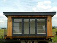 Western Red Cedar Fully Insulated Garden Room/Home Office/Treatment Room/Log Cabin/Chalet