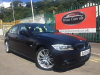 2009 59 BMW 3 Series 3.0 325d M Sport 4dr FULLY LOADED Automatic Turbo Diesel Low Miles