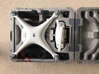 DJI Phantom 4. Case. Extra batteries. Extra props. Propguards