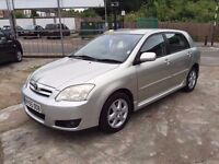 2006 TOYOTA COROLLA D-4D DIESEL. FINANCE AND WARRANTY AVAILABLE