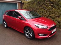 ST-Line Ford Focus - 2016 - 1.5 ecoboost - extensive options list including full auto park & Sat Nav