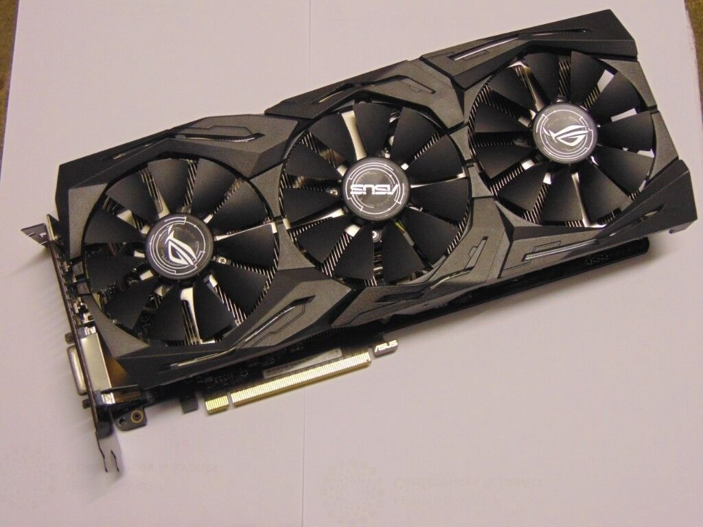 ASUS ROG Strix Nvidia GeForce GTX 1070 TI Gaming Graphics Card 8GB - USED -  Fully Working | in Stoke-on-Trent, Staffordshire | Gumtree