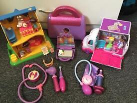 Doc mcstuffins Disney toy bundle