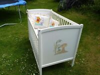 Painted Pine cot