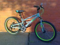 Apollo Creed Junior Mountain ,City Bike - Full suspension , comfortable seat , disc brakes ...