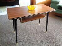 Vintage Mid Century Teak Coffee Table
