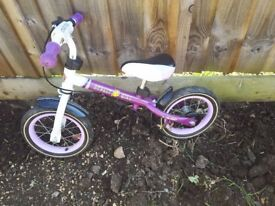 Street girls balance bike