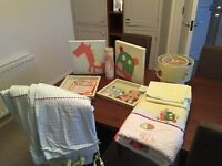 mamas and papas gingerbread man complete bedroom set
