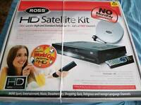Ross HD Satellite Kit with Dish