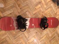 Burton Snowboard & Bag