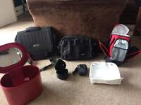 Travel holdall, satchel, notebook bag, camera case, jewellery box & thermal bag