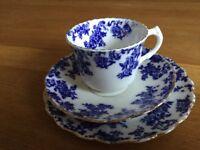 CROWN BONE CHINA TEA CUPS SAUCERS AND PLATES