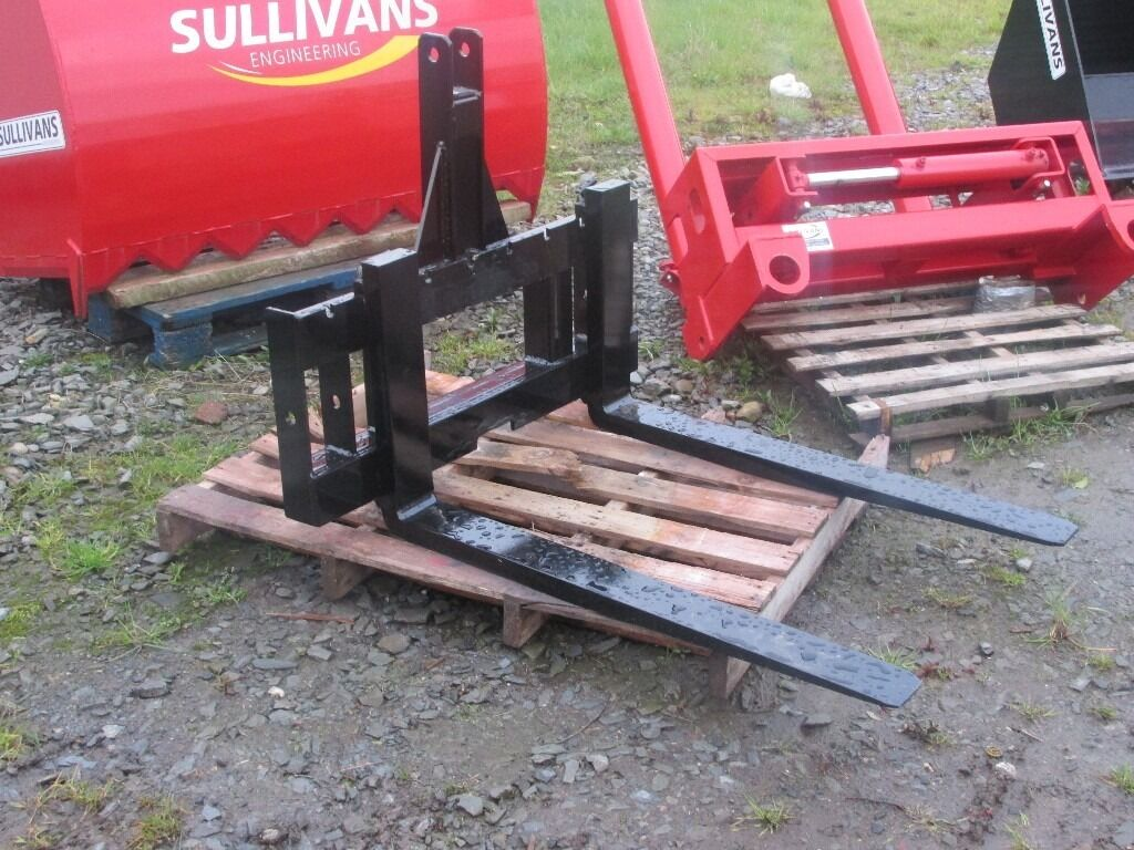 Tractor Bucket Forks : Tractor pallet forks buckets bale grab in portadown