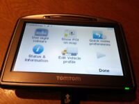 """TomTom Go 520 ,4.3""""Screen Latest all Europe Maps"""