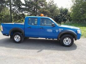 FORD RANGER 2.5 TD 4X4, DOUBLE CAB- 2008