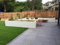 Gardens. Decking. Driveways. Patios. Fence. Paving. Turfing. Block Paving.