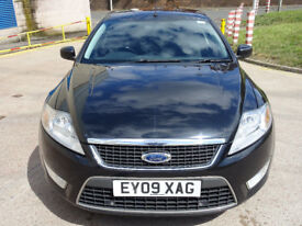 FORD MONDEO 1.8 ZETEC TDCI 5d 125 BHP FRONT AND REAR PARKING AID + SERVICE RECORD + BLUETOOTH +