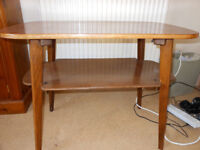 Retro/vintage solid wood coffee table great condition